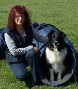 Hundetrainerin Rita Möllenkamp